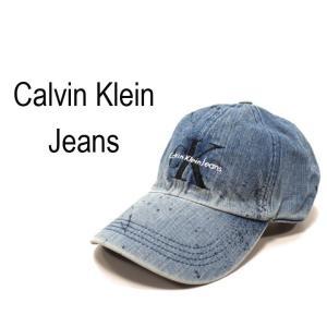 Calvin Klein Jeans カルバンクライン デニム キャップ ole2014