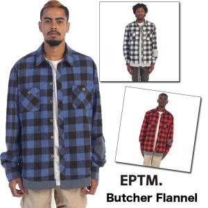 EPTM (エピトミ) Butcher Flannel チェックヴィンテージ加工 ネルシャツ ole2014