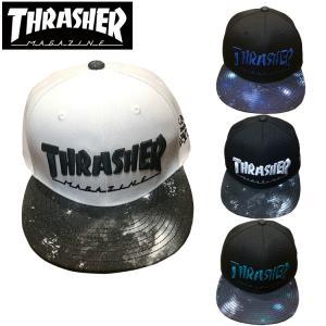 スラッシャー THRASHER キャップ 帽子 スナップバック|ole2014