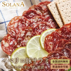 ポイント消化 お中元 ギフト スペイン産サラミ・イベリコサラミ 二種類から選べるおつまみ プレゼント 送料無料 セール