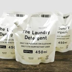 洗濯排水の94%が24時間で自然に還る、 環境負荷の少ない「THE 洗濯洗剤」の お得な詰め替え用パ...