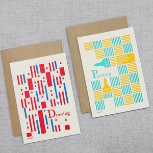 yuruliku BUNGU Card 活版印刷カード