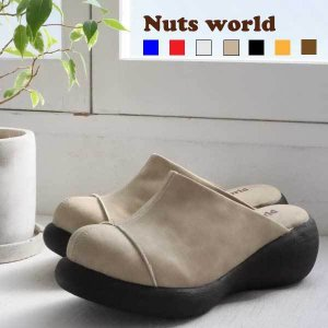 送料無料 ストレートチップサボ サボサンダル レディース  靴 オリジナル正規品 Nuts worl...