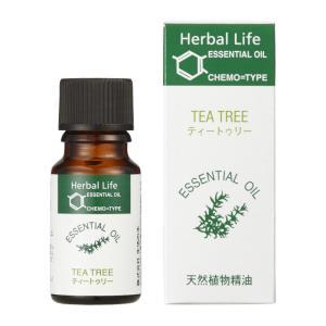 エッセンシャルオイル ティートゥリー 10ml 生活の木 アロマオイル 精油