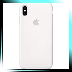 ホワイト iPhone XS Maxシリコーンケース - ホワイト