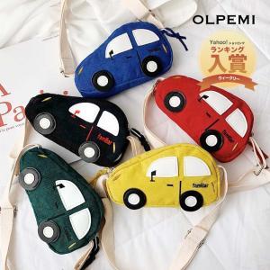 キッズ 男の子 女の子 ショルダーバッグ 車 バッグ キッズバッグ かばん 斜めがけ 子供服 韓国子供服 韓国 CAR'Sバッグ【A020】|olpemi
