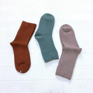 子供 靴下 おしゃれ セット キッズ ショート 韓国子供服 男の子 女の子 リブソックス3点セットC A024 olpemi