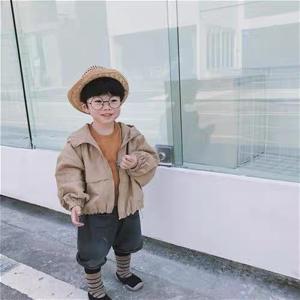 キッズ アウター ジャケット シンプル マウンテンパーカー 女の子 男の子  韓国子供服 フードデザインブルゾン【O028】|olpemi