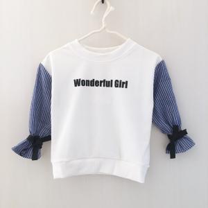 袖シャツドッキングトップス ホワイト【620】|olpemi