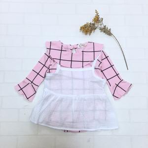 キャミ&ロンパースセットアップ ピンク olpemi