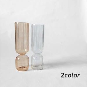 花瓶 おしゃれ 韓国インテリア フラワーベース 雑貨 ドライフラワー ディスプレイ 北欧 グラスフラワーベース Z032|olpemi