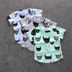 ネコ柄Tシャツ【524】|olpemi