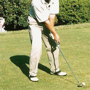 スイング矯正ゴルフ練習器具 クロスグリップ