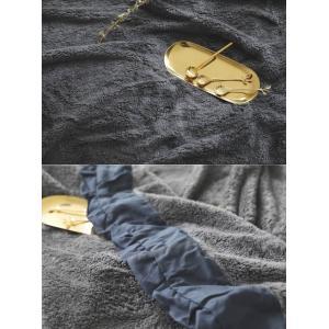 フリル 毛布 シングル 毛布 大判 北欧 ひざ掛け ブランケット マルチクロス スローケット ベッドスロー マルチカバー 毛布 寝具 あったか 雑貨 インテリア お…|olulu|13