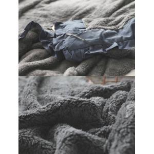 フリル 毛布 シングル 毛布 大判 北欧 ひざ掛け ブランケット マルチクロス スローケット ベッドスロー マルチカバー 毛布 寝具 あったか 雑貨 インテリア お…|olulu|14