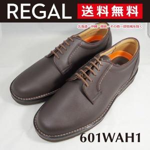 リーガル ウォーカー 601W プレーントゥ メンズ ビジネス 3Eウィズ クールマックス REGA...