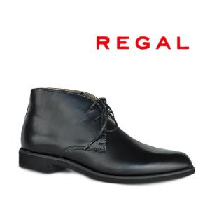 REGAL  メンズ チャッカーブーツ ブラック 在庫有りサイズ 24.5/25.0/25.5/26...
