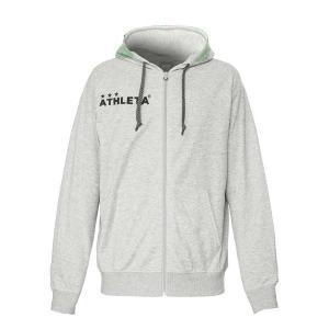 アスレタ ATHLETA 03332J-GRY サッカー ジャケット(ジュニア)ライトスウェットZIPパーカー om-sports