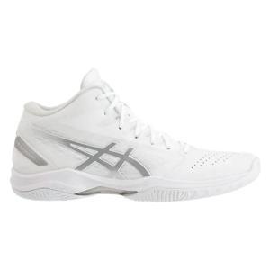 アシックス asics GELHOOP V11-NARROW(ユニセックス) NEW バスケットボールシューズ 1061A013-119(ホワイト/シルバー)|om-sports