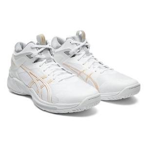 アシックス asics GELBURST 24(ユニセックス) ワイド バスケットボールシューズ 1063A014-100(ホワイト/ホワイト)|om-sports