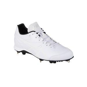 アシックス asics NEOREVIVE 4 WHT  野球スパイク 1123A032-110(ホワイト×ホワイト )|om-sports