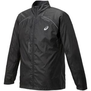 アシックス ライトーショウ ジャケット ウォームアップウエア 127827-0904(P ブラック)|om-sports