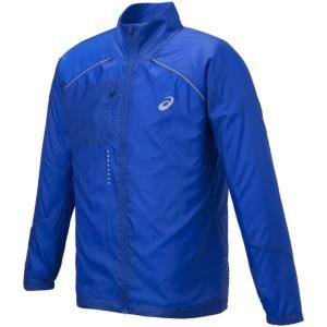 アシックス ライトーショウ ジャケット ウォームアップウエア 127827-8107(AF ブルー)|om-sports