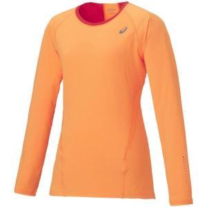 アシックス LS TOP ランニングTシャツ 127848-0550(ピーチ)|om-sports