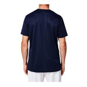 アシックス asics OP ショートスリーブトップ NEW メンズTシャツ 2031A664-401 (ピーコート/ブライトローズ )|om-sports|02