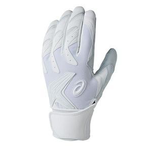 アシックス asics 3121A016-100 ゴールドステージ 高校対応バッティング手袋 スピードアクセル|om-sports