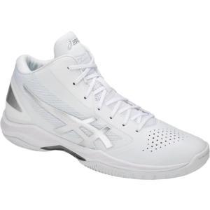アシックス GELHOOP V10 ゲルフープV10 18SS バスケットボールシューズ TBF339-0193 (ホワイト/シルバー)|om-sports
