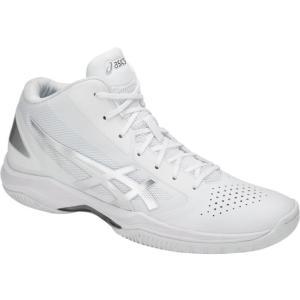 アシックス GELHOOP V10-slim ゲルフープV10-スリム 18SS バスケットボールシューズ TBF341-0193 (ホワイト/シルバー)|om-sports