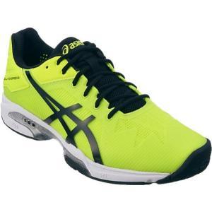 アシックス ゲル-ソリューションスピード3OC 16FW テニスシューズ TLL768-0790 (フラッシュイエロー×ブラック)|om-sports