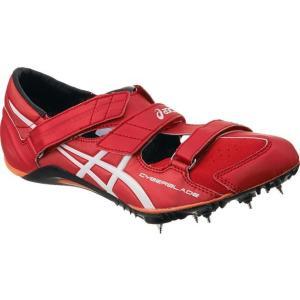 アシックス サイバーブレード スパイク TTP507-2301 (レッド×ホワイト)|om-sports