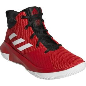 アディダス adidas プロ エレベート 2018K(ジュニア)NEW バスケットボールシューズ AC7628 (スカーレット/ランニングホワイト/コアブラック)|om-sports
