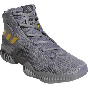 アディダス adidas プロ バウンス 2018(ユニセックス) NEW バスケットボールシューズ AH2656 (グレースリーF17/ゴールドメット/グレーフォアF17)|om-sports