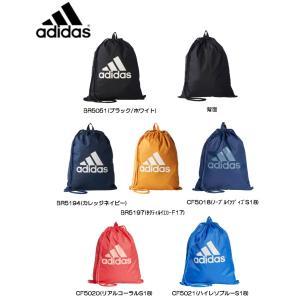アディダス adidas ビッグロゴジムバッグ 18Q1 ナップサック(ジムバッグ) BFP39 (6色)|om-sports