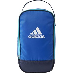 アディダス adidas ジュニア シューズケースKIDSシューズバッグ シューズバッグ DMD18-BR6326 (ブルー/カレッジネイビー) om-sports