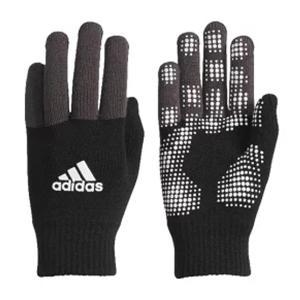 アディダス(adidas) (男女兼用・ジュニア)ベーシックニットグローブ 18Q1 手袋 DUD31-CD4789 (ブラック/ホワイト) om-sports