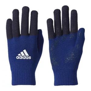 アディダス(adidas) (男女兼用・ジュニア)ベーシックニットグローブ 18Q1 手袋 DUD31-CD4793 (ミステリーインクF17) om-sports