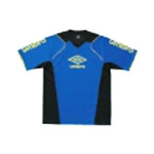 アンブロ ジュニア プラクティスシャツ12SS サッカー・フットサル シャツ FTB7230J-BLU|om-sports