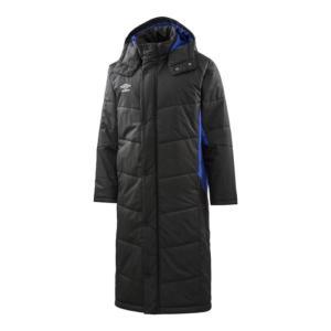 アンブロ umbro ジュニア ロングパデッドコート NEW ジュニア ベンチコート UUJMJK33-BLK (ブラック)|om-sports