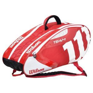ウィルソン チーム J 6 パック バッグ WRZ647606-RDWH (レッド/ホワイト)|om-sports