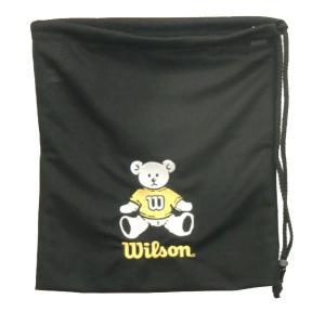 ウィルソン ナップサック(ベア グローブ バッグ) バッグ WTA8022-YE (ブラック×イエロー)|om-sports