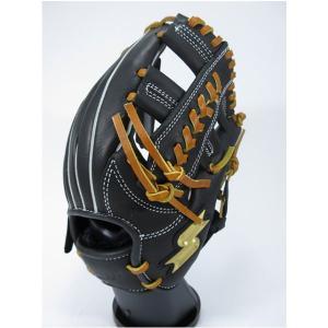 SSK エスエスケイ PEJ184F-9047 【グラブ グローブ】野球 少年軟式用グローブ(内野手用) プロエッジ ブラック×タン|om-sports
