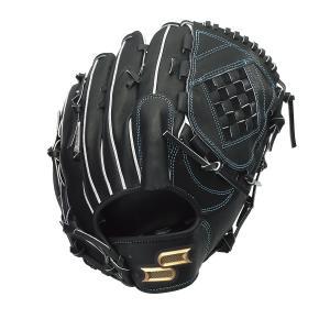SSK エスエスケイ 硬式プロエッジ投手用 硬式グローブ PEK8137S21-90(ブラック)|om-sports