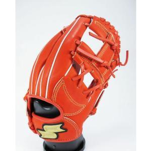 SSK エスエスケイ PEN34019-33 野球 一般軟式用グローブ プロエッジ レディッシュオレ...