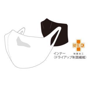 オンヨネ onyone ハイブリッドタイプ マスクSK(ドライアップ制菌繊維) 健康ケアグッズ OMA20MK2-WHTBLK(ホワイト×ブラック)|om-sports