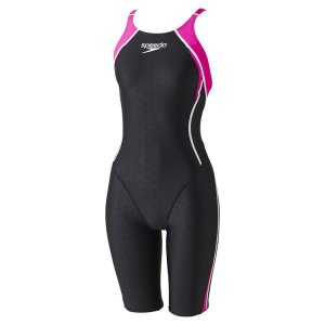 スピード Speedo FLEX Σニースキン(IV)(ジュニア ガールズ/競泳用/オールインワン)  ジュニア水着 SD37H452-MA (マジェンタ)|om-sports