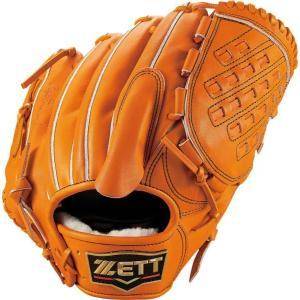 ゼット ZETT 投手用 プロステイタス プレミアム(右投げ用) NEW 硬式グラブ BPROG1N-5600(オレンジ)|om-sports